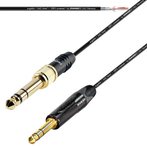 TRS To TRS Patch Mic Cable  NP3XB -  HI-J3563S | ProCables.Audio