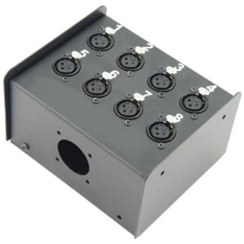 Penn Elcom Neutrik Loaded 8 Way Stage Box | Pro. Cables Audio