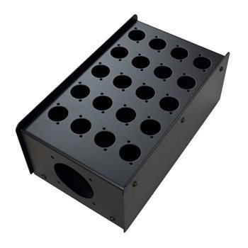 Penn Elcom 20 Hole Stage Box Punched for D-Series Connectors | Pro. Audio Cables