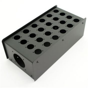 Penn Elcom 24 Hole Stage Box Punched for D-Series Connectors | Pro. Audio Cables