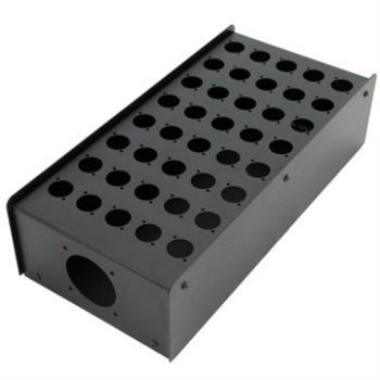 Penn Elcom 40 Hole Stage Box Punched for D-Series Connectors | Pro. Audio Cables