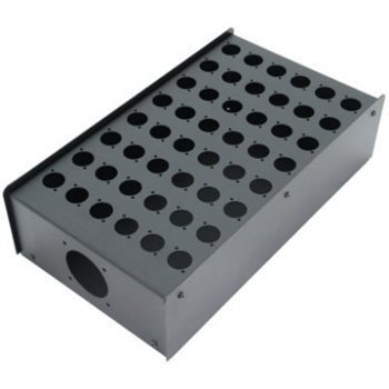 Penn Elcom 48 Hole Stage Box Punched for D-Series Connectors | Pro. Audio Cables