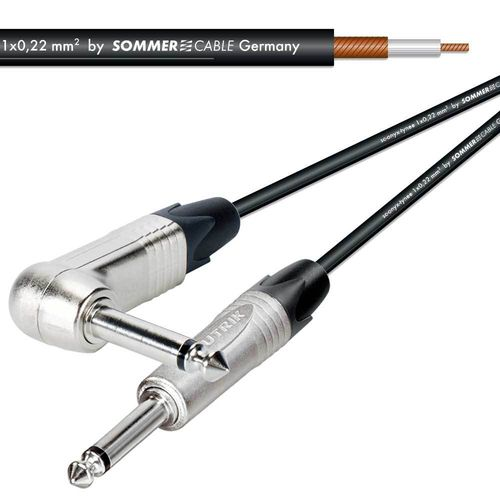 TS To TS Instrument Cable Neutrik NP2RX - Neutrik NP2X